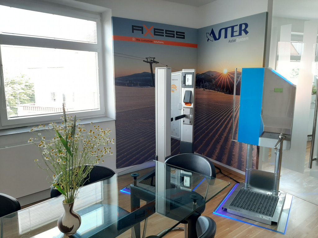 Nový SHOWROOM Axess i AsterSystem